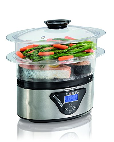Hamilton Beach Digital Steamer, 5.5 quart, Multicolor
