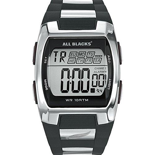 All Blacks Reloj Digital de Cuarzo para Hombre con Correa de Plástico - 680023: Amazon.es: Relojes
