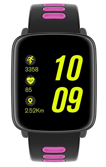 Amazon.com: GV68 Smart Watch MTK2502 Bluetooth 4.0 IP68 ...