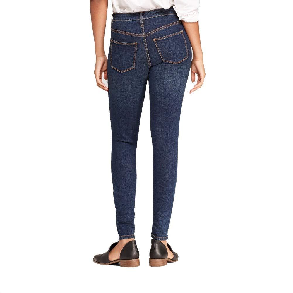 e43fc6c1357f7 Universal Thread Women's High-Rise Jeggings Dark Wash 6/28 S at Amazon  Women's Jeans store