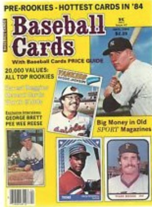 Baseball Cards Magazine - April 1984