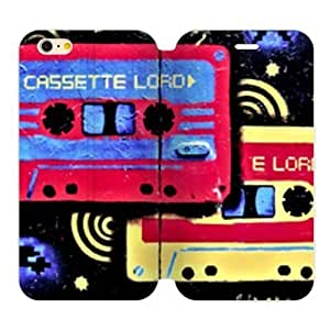Doodle Style Cassette Tape Custom Cover Case Case Cover For Apple Iphone 6 4.7 Inch