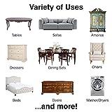 SuperSliders 4713995K Reusable Felt Furniture
