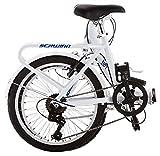 Schwinn Loop Adult Folding Bike, 20-inch