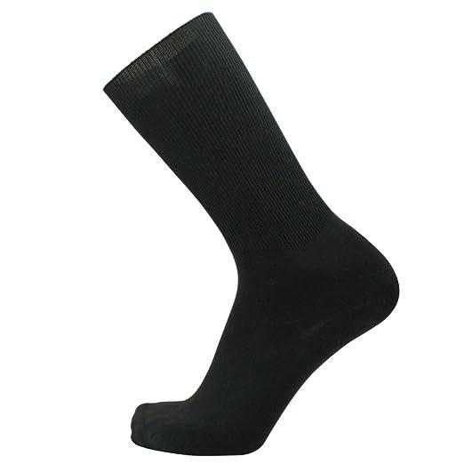 99e7c881db SOK Men's Poor Circulation Loose Low Compression anthracite (dark grey)  socks 2 pairs size