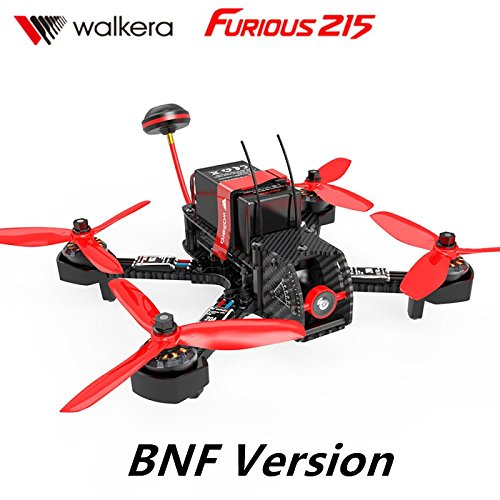 Xiangtat Walkera Furious 215 215mm FPV Racing Drone Quadcopter BNF Version W/O F3 5.8G 200mW 600TVL Camera DEVO 7 Remote Controller Transmitter BNF Version