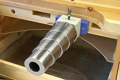 Bracelet Mandrel Holder and Stepped,Oval, Steel Mandrel Kit - SFC Tools - KIT-0020