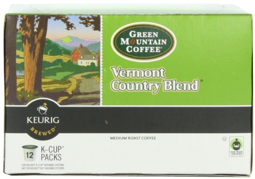 Vermont Blend K-cups Country (Green Mountain Coffee K-Cup, Vermont Country, 12-Count)