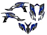 2007 yfz 450 graphics - Yamaha YFZ450 Graphics Decal Kit 2003-2008 by Allmotorgraphics NO4444 Blue