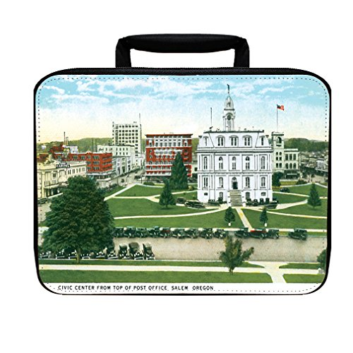 Civic Center From Post Office, Salem , Or Insulated Lunch Box - Center Salem The