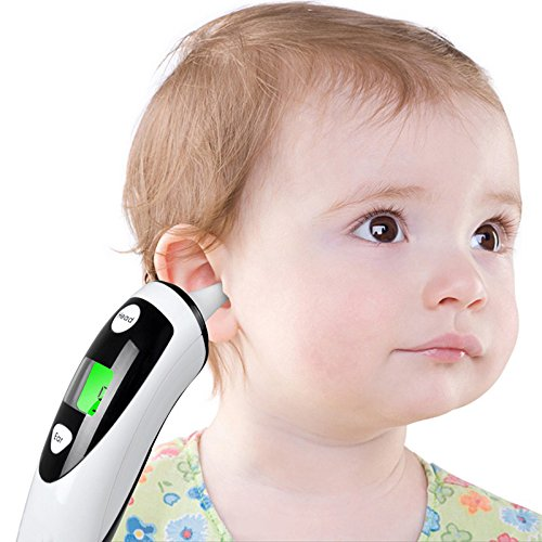 Digital Medical Forehead Ear Thermometer for Baby Kids Adults