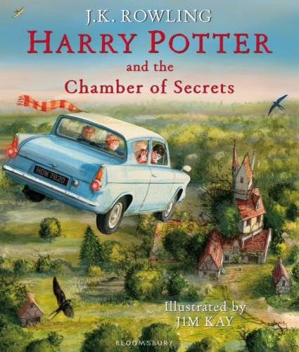 PRE-ORDER Harry Potter and the Chamber of Secrets: Illustrated Edition Hardcover by Unbranded