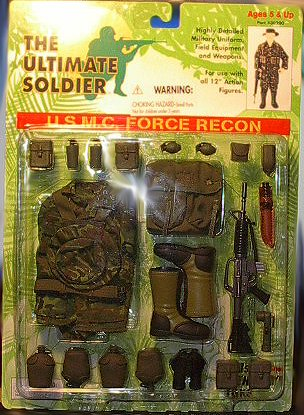 Ultimate Soldier U.S.M.C. Force Recon Outfit Set (Soldiers Outfit)