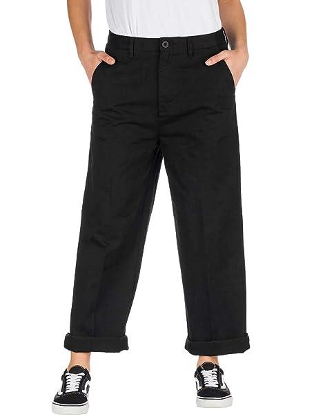 Pantalón 36 Us Mujer Negroeu Nolan Santa Chino 3 Cruz KJclF1