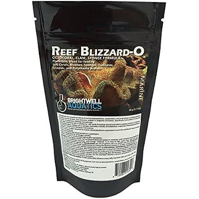 Brightwell Aquatics Reef Blizzard-O Powdered Planktonic Food Blend for Octocorals & Bivalves