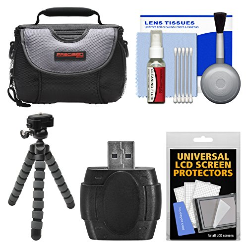 - Essentials Bundle for Panasonic HC-W580, WXF1, WXF991, V380, V770, V800, VX1, VX870, VX981 with Case + Flex Tripod + Accessory Kit