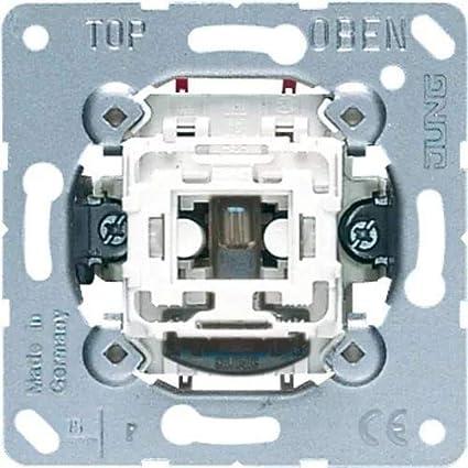 Jung Interrupteur universel de-changement de tenue d/'apparat IP 44 10 AX 250 v 606w 606 w