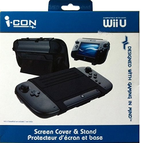 I-con Screen Cover & Stand Compatible with Wiiu /Avec by ICON