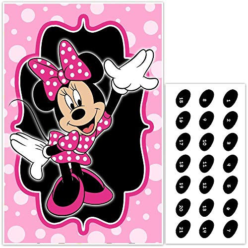 Pin the Nose on Minnie Mouse Birthday Party ()