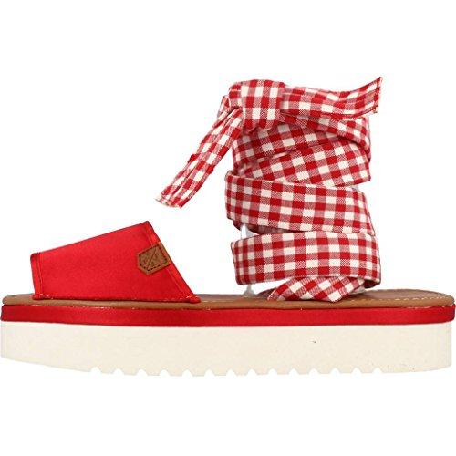 Marca Menorquinas Menorquinas Chanclas POPA y MELBURNE Y Sandalias Rojo para para Sandalias Chanclas Rojo Mujer POPA Rojo Mujer Modelo Color Z0YFq