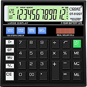 Orpat OT-512GT Calculator (Black)