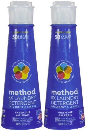 Method Laundry Detergent - 20 oz - Fresh Air - 2 pk