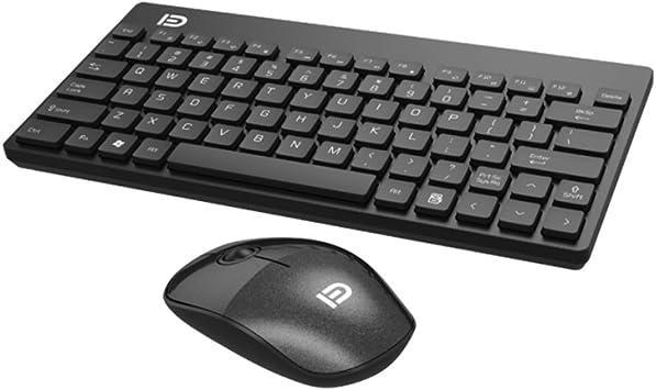 Slim 2.4G Wireless Gaming Keyboard 1500DPI Mouse Set Combo For Desktop PC Laptop