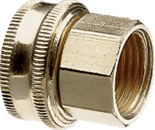 Nelson Industrial Brass Pipe and Hose Fitting with One Swivel for 1/2-Inch Male NPS to Male Hose, Double Female 50575 Double Male Hose