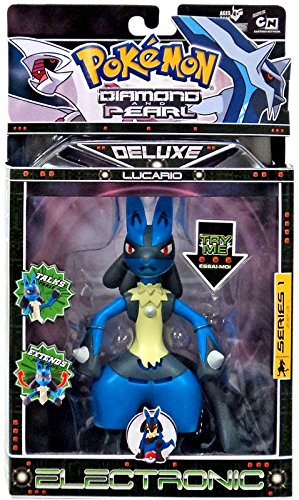 Jakks Pacific Pokemon Diamond & Pearl Deluxe Electronic Series 1 Lucario Action Figure ()