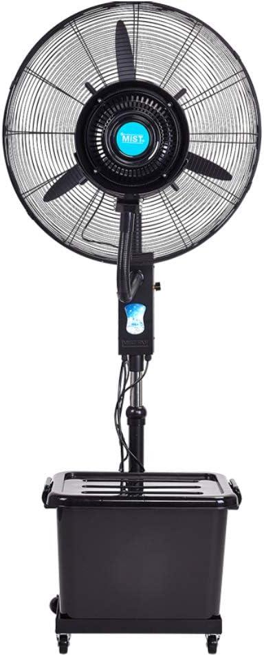 急速な冷却を噴霧する大きい振動屋内および屋外の基礎床ファン、頑丈な加湿器産業ファン - 3速度 110V