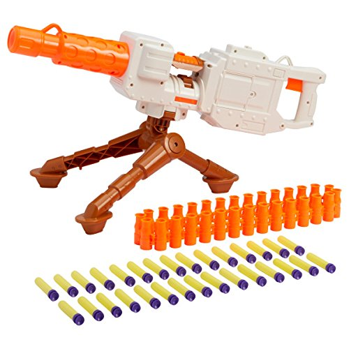 Amazon.com: Buzz Bee Toys Air Warriors Motorized Overlord Blaster: Toys &  Games