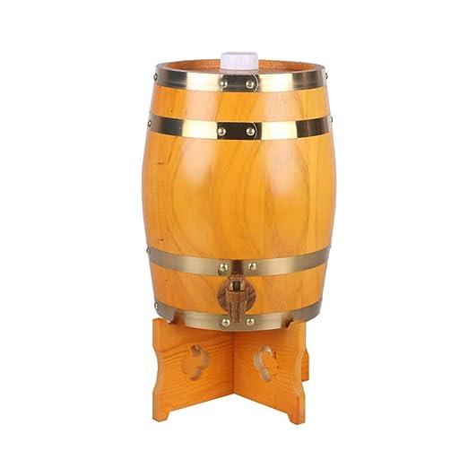 Compra XAJGW Mesa Auxiliar Napa Barrel - Mesa Auxiliar de Madera ...