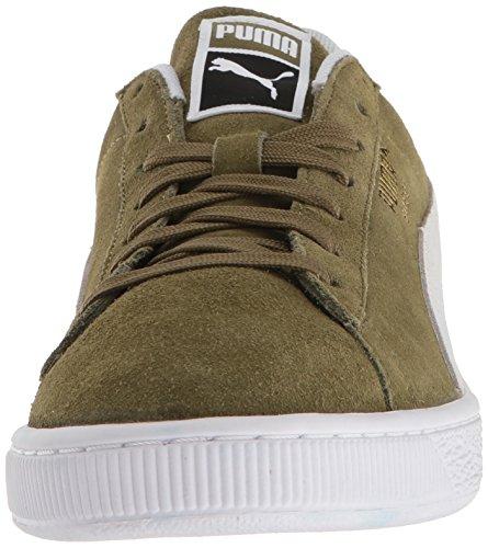 Capulet Chaussures Puma En puma Olive Pour White Classiques Hommes Daim 7YZwSqfpZ