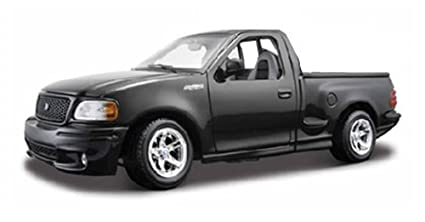 Ford F 150 SVT Lightning Pickup Truck, Black   Maisto 31141   1/