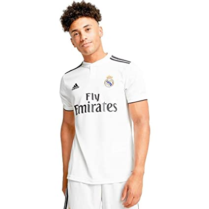 73700e083 Amazon.com   Adidas 2018-2019 Real Madrid Home Football Soccer ...