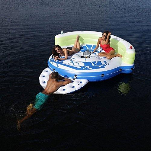 (CoolerZ Kick Back Lounge Inflatable Floating)