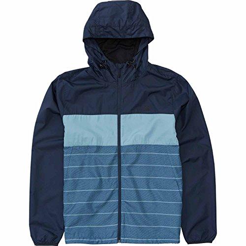 Billabong Men's Transport Mini Ripstop Windbreaker Jacket with Hood, Navy, M