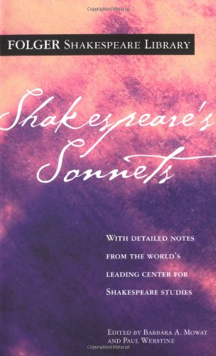 Shakespeare's Sonnets (Folger Shakespeare Library)