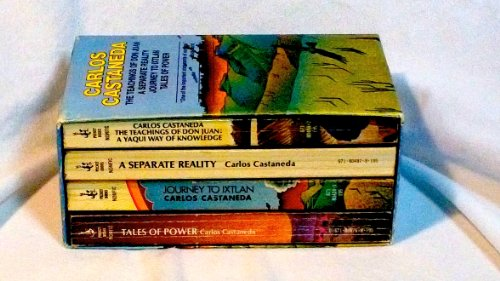 The Teachings of Don Juan; A Separate Reality; Journey to Ixtlan; Tales of Power Boxed Set