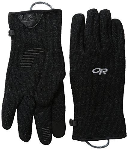 Outdoor Research Men's Flurry Sensor Gloves, Black, Large