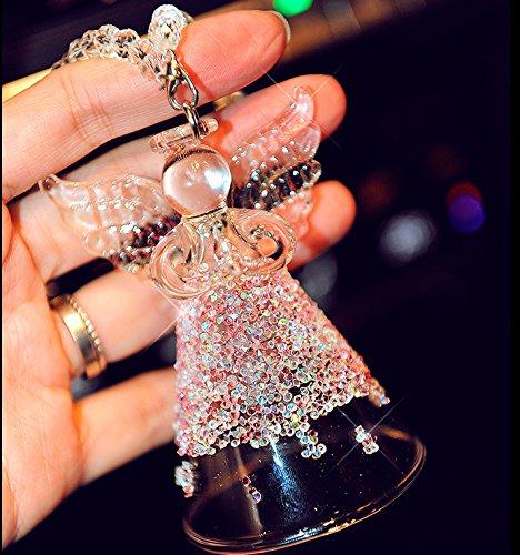 Auto - anhänger der high - end - Engel im auto campanula Crystal - ornamente geschenke Jushi anhänger anhänger strass - auto