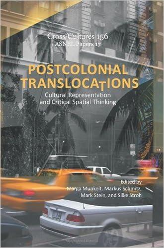 Postcolonial Translocations: Cultural Representation and