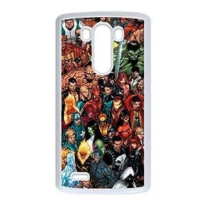 LG G3 phone cases White Marvel comic Phone cover DSW1890404