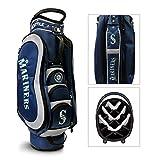 MLB Seattle Mariners Medalist Cart Golf Bag, Navy