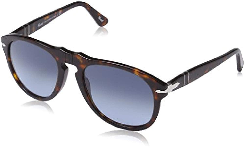 79d5b4d6f4 Amazon.com  Persol PO0649 Sunglasses Havana Crystal Sky Gradient 52    Carekit Bundle  Clothing