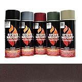 Mahogany - 1200 Degree Wood Stove High Temp Paint -