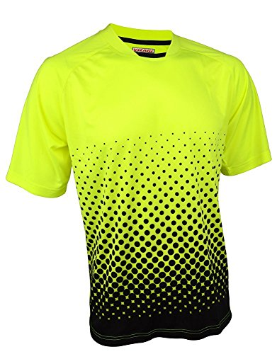 Vizari Ventura Ss Gk Jersey Size Neon Yellow/Black, Yl