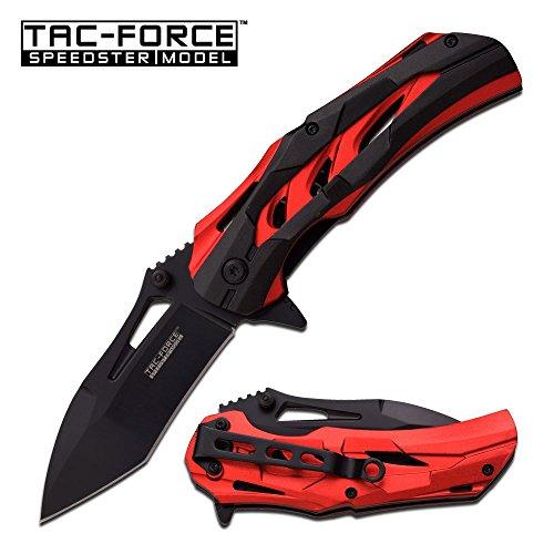 Tac-Force Speedster Model Assisted Opening Knife TF-915RD