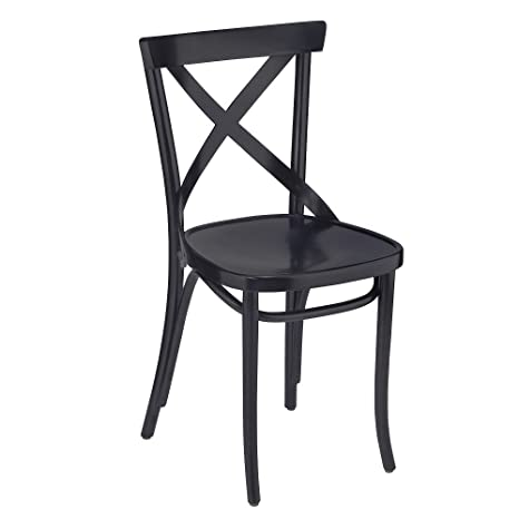 Outstanding Amazon Com European Bentwood X Back Wood Dining Chairs Ibusinesslaw Wood Chair Design Ideas Ibusinesslaworg