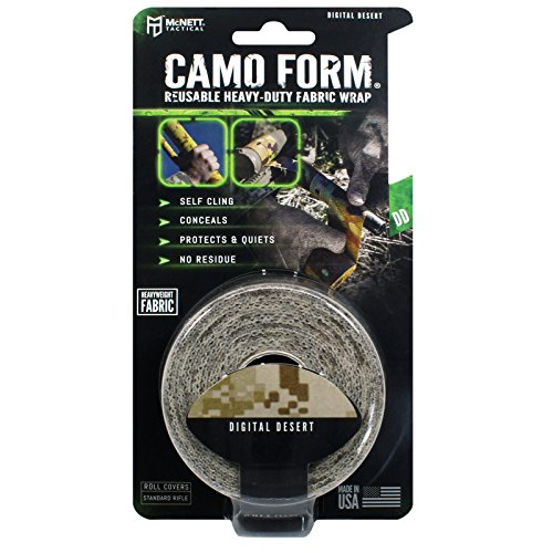 McNett Tactical Camo Form Protective Camouflage Wrap, Digital (Reel Wrap)